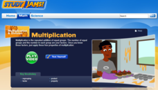 Study Jams! Multiplication Interactive