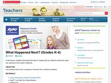 What Happened Next? (Grades K-4) Lesson Plan