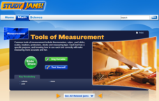 Study Jams! Tools of Measurement Interactive