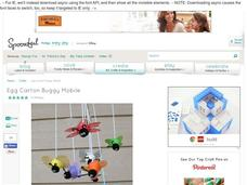 Egg Carton Buggy Mobile Activities & Project