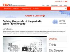 Solving the Puzzle of the Periodic Table Video
