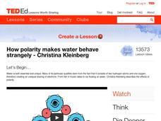 How Polarity Makes Water Behave Strangely Video