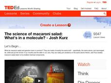 The Science of Macaroni Salad: What's in a Molecule? Video