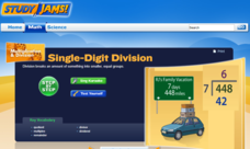 Study Jams! Single-Digit Division Interactive