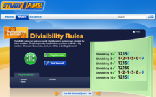 Study Jams! Divisibility Rules Interactive