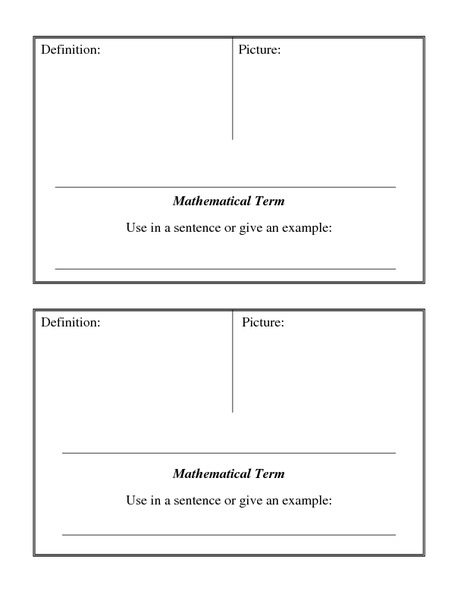 Student Word Wall Template Printables & Template