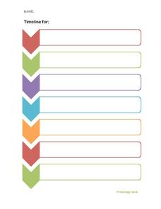 Sequence Graphic Organzier Printables & Template