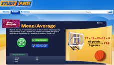 Study Jams! Mean/Average Interactive