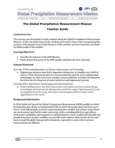 The Global Precipitation Measurement Mission (GPM) Lesson Lesson Plan