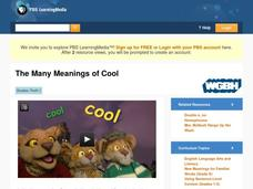 The Many Meanings of Cool Video