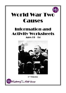 World War Two Causes Activities & Project