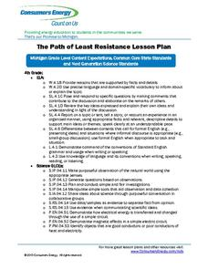 The Path of Least Resistance Lesson Plan
