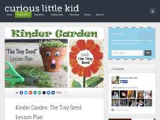 Kinder Garden: The Tiny Seed Lesson Plan Lesson Plan