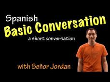 Basic Conversation in Spanish - Entire Conversation (Basic) Video