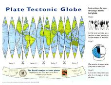 Plate Tectonic Globe Printables & Template