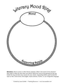 Literary Mood Ring Printables & Template
