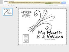 My Mouth is a Volcano Poster Printables & Template