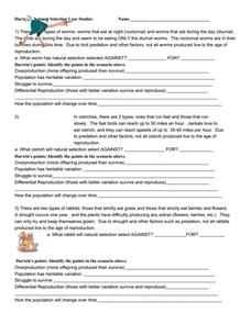 Evolution Natural Selection Worksheet Photos - Beatlesblogcarnival