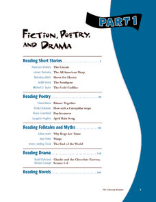 Fiction, Poetry, and Drama Part 1 Graphic Organizer