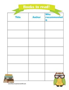 photograph regarding Books I've Read Printable named Textbooks in the direction of Go through Printables Template for 1st - 8th Quality