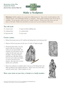 Make a Sculpture Activities & Project