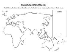 trans saharan trade route lesson plans worksheets. Black Bedroom Furniture Sets. Home Design Ideas