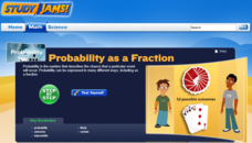 Study Jams! Probability as a Fraction Interactive