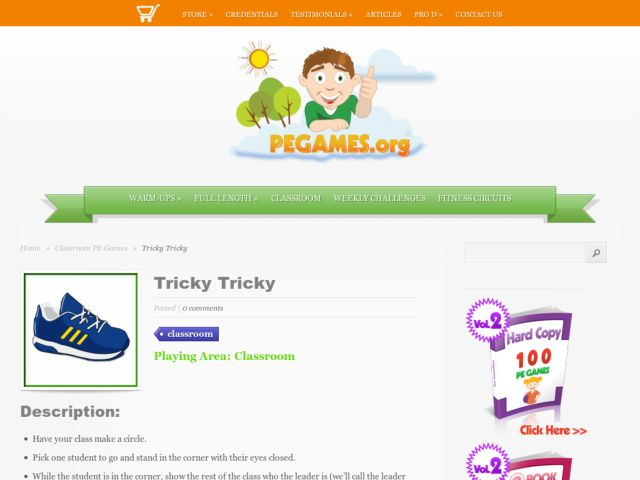 Tricky Tricky Activities & Project