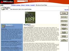 The Inn of Lost Time Reader's Resource Activities & Project