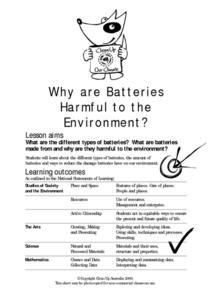 Why are Batteries Harmful to the Environment? Activities & Project