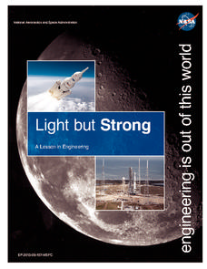 Light but Strong: A Lesson in Engineering Lesson Plan