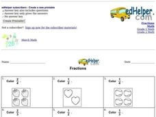 Fractions 2 Worksheet