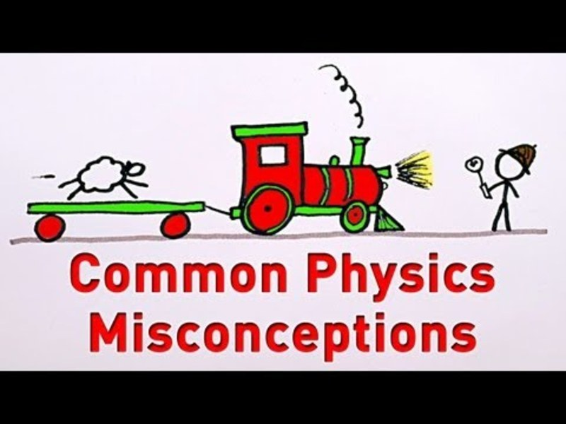 Common Physics Misconceptions Video