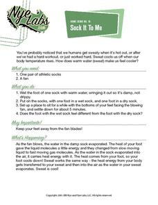Sock It To Me Activities & Project