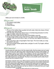 Twistin' Tornado Activities & Project
