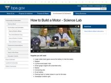 How to Build a Motor Activities & Project
