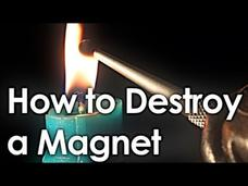 How to Destroy a Magnet (+ interactive periodic table) Video
