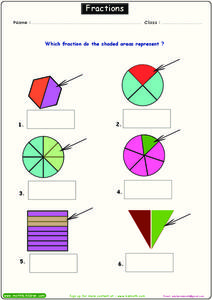 Fractions 4 Worksheet