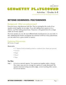 Beyond Dominoes: Polyominoes Lesson Plan