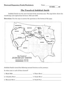 Westward Expansion Packet Worksheet