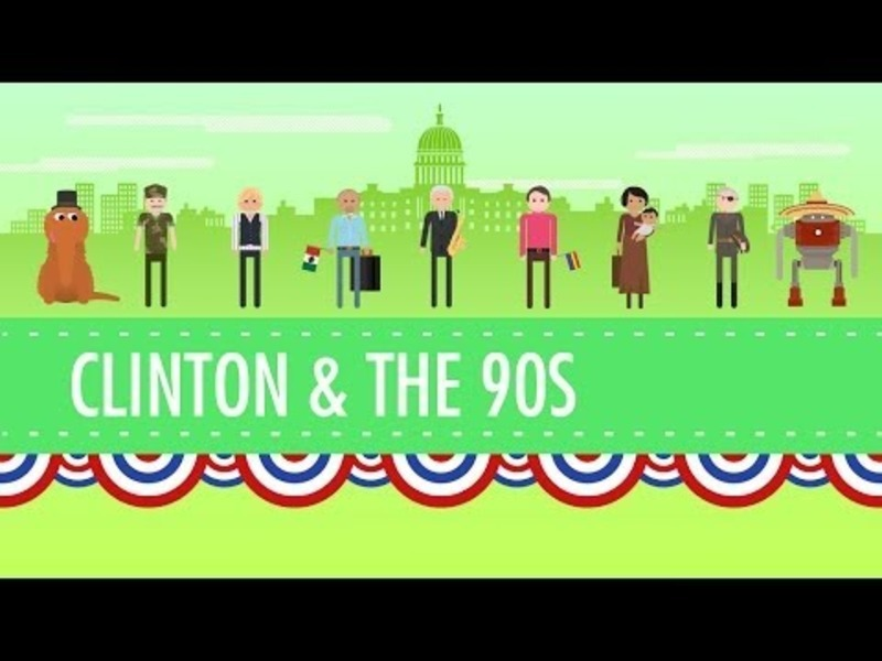 The Clinton Years, or the 1990s Video