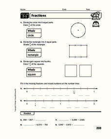 Fractions Workbook