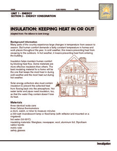 Investigation: Insulation Activities & Project