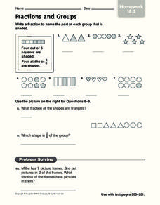 Fractions and Groups Worksheet