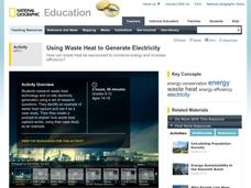 Using Waste Heat to Generate Electricity Activities & Project
