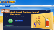 Study Jams! Addition & Subtraction of Decimals Interactive