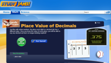 Study Jams! Place Value of Decimals Interactive