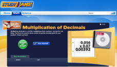 Study Jams! Multiplication of Decimals Interactive