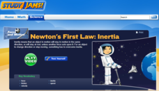Study Jams! Newton's First Law: Inertia Interactive
