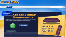 Study Jams! Add & Subtract Measurements Interactive
